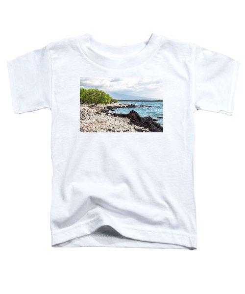 White Coral Coast Toddler T-Shirt