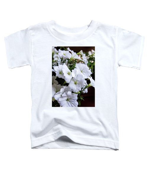 White Flowers Toddler T-Shirt