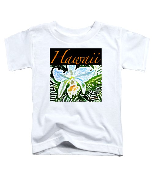 White Orchid T-shirt Toddler T-Shirt