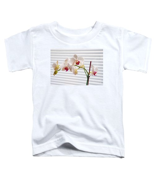 White Orchids On White Toddler T-Shirt