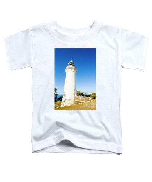 White Seaside Tower Toddler T-Shirt