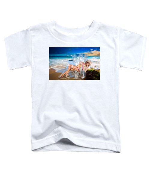 Whoops  ...  Marylin Toddler T-Shirt