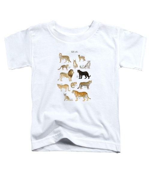 Wild Cats Toddler T-Shirt