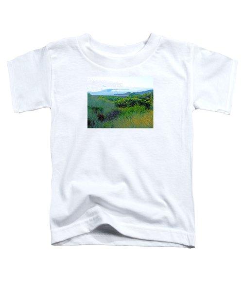 Wild Coastal Flora Toddler T-Shirt