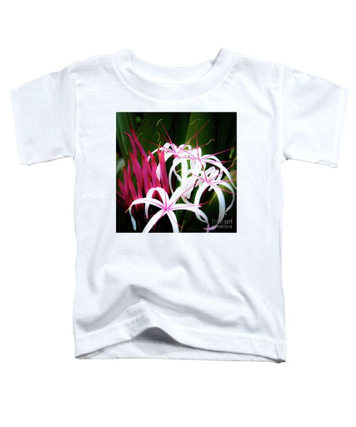Wild Flowers In Hawaii Toddler T-Shirt