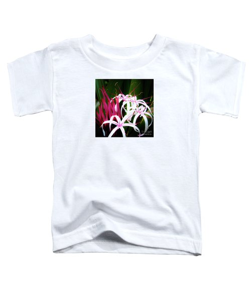 Wild Flowers In Hawaii Toddler T-Shirt