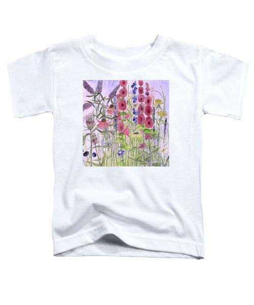 Wild Garden Flowers Toddler T-Shirt