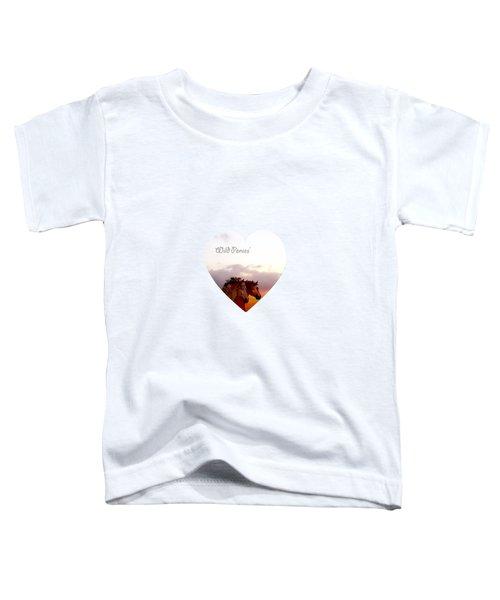 Wild Moorland Ponies Toddler T-Shirt