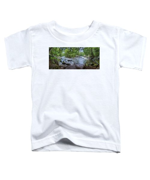 Toddler T-Shirt featuring the photograph Wilderness Waterway by Bill Pevlor