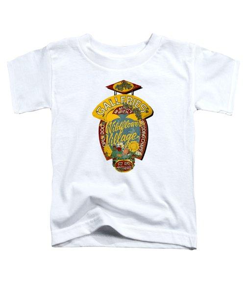 Wildflower Village Toddler T-Shirt