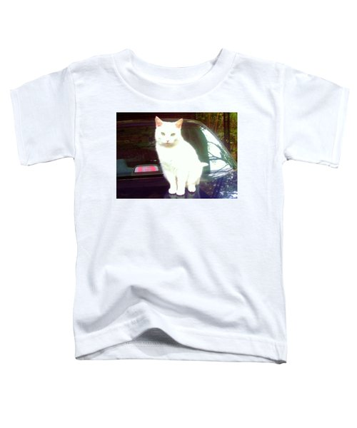 Will Wash Car For Treats Toddler T-Shirt