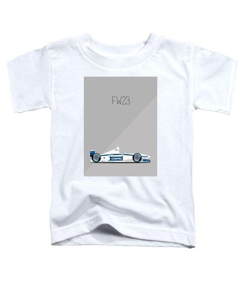 Williams Bmw Fw23 F1 Poster Toddler T-Shirt