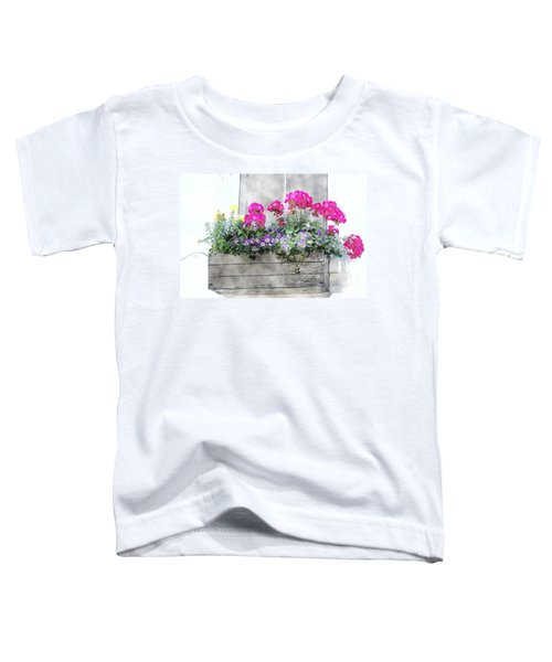 Window Box 5 Toddler T-Shirt