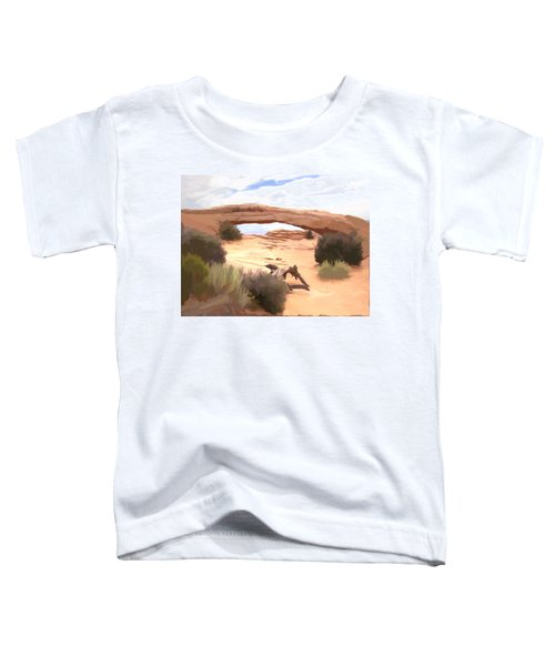 Window On The Valley Toddler T-Shirt