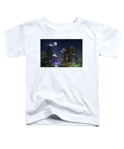 Windy City Toddler T-Shirt by Frozen in Time Fine Art Photography