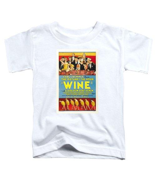 Wine 1924 Toddler T-Shirt