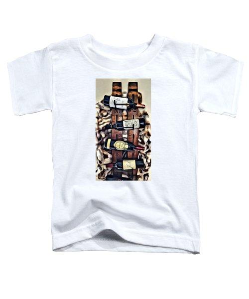 Wine Rack Toddler T-Shirt