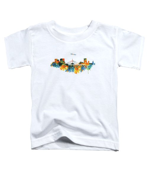 Winnipeg Skyline Toddler T-Shirt