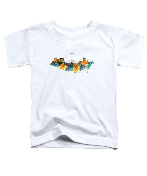 Winnipeg Skyline Toddler T-Shirt