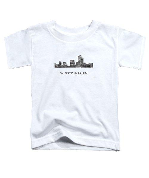Winston-salem North Carolina Skyline Toddler T-Shirt