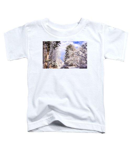 Winter Drive Toddler T-Shirt