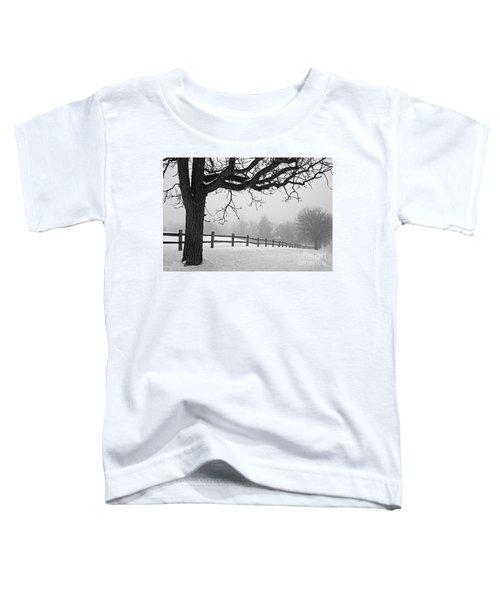 Winter Fog Toddler T-Shirt