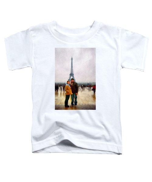 Winter Honeymoon In Paris Toddler T-Shirt