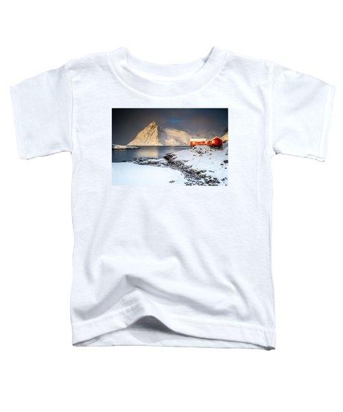 Winter In Lofoten Toddler T-Shirt
