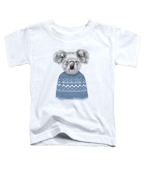 Winter Koala Toddler T-Shirt