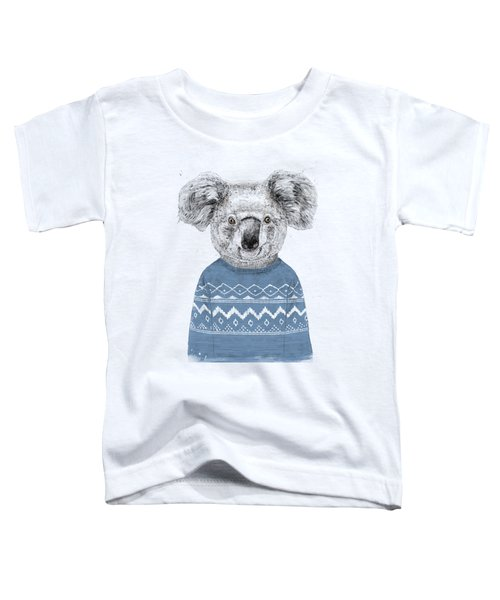 Winter Koala Toddler T-Shirt