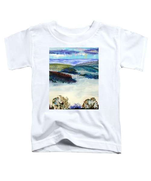 Winter Misty Morning In Devon Toddler T-Shirt