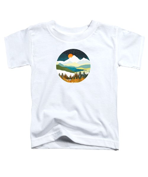 Winters Night Toddler T-Shirt