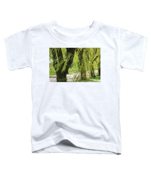 Wispy Willows-2 Toddler T-Shirt