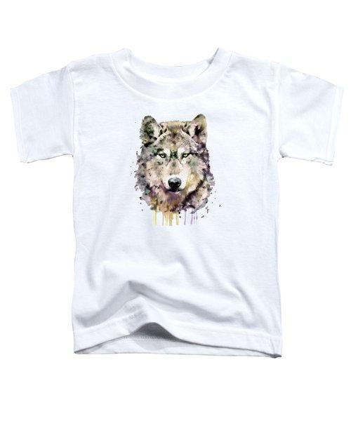 Wolf Head Toddler T-Shirt