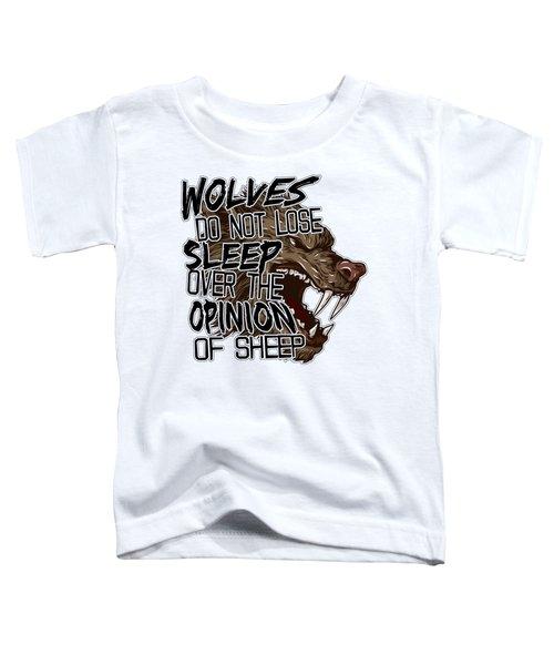 Wolves And Sheep Toddler T-Shirt