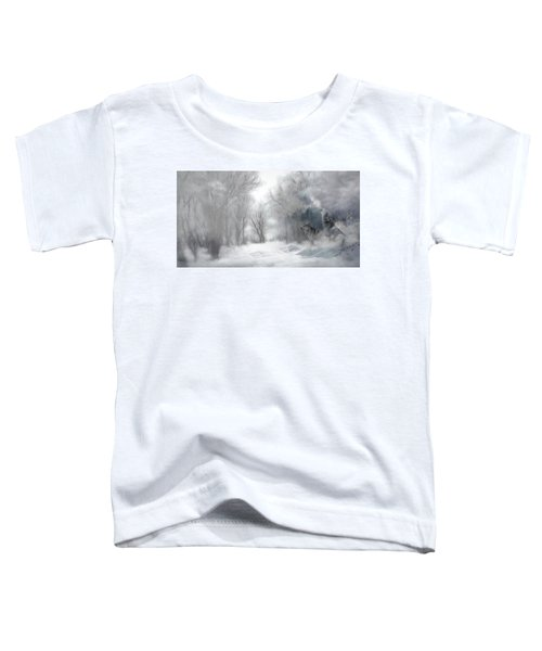 Wolves In The Mist Toddler T-Shirt