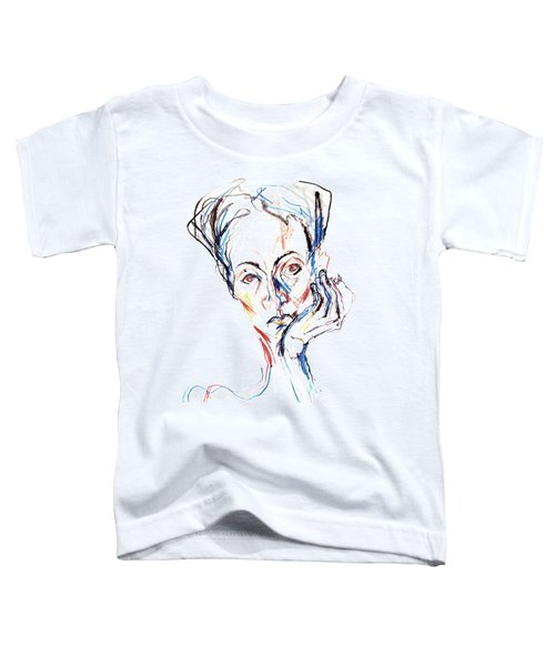 Woman Expression Toddler T-Shirt