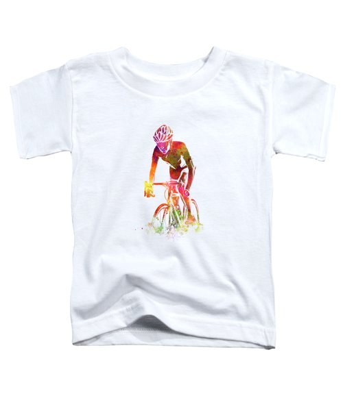 Woman Triathlon Cycling 04 Toddler T-Shirt