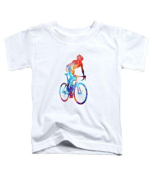 Woman Triathlon Cycling 06 Toddler T-Shirt
