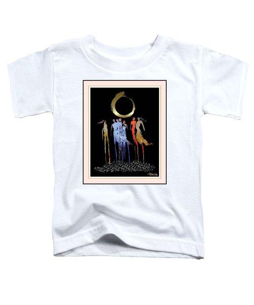 Women Chanting - Enso  Toddler T-Shirt