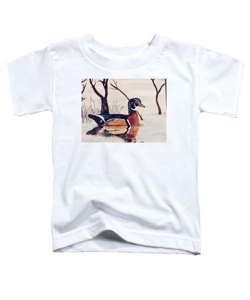 Wood Duck No. 2 Toddler T-Shirt