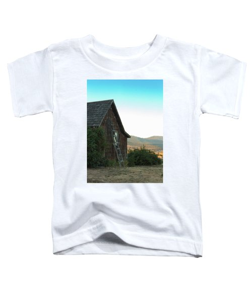 Wood House Toddler T-Shirt