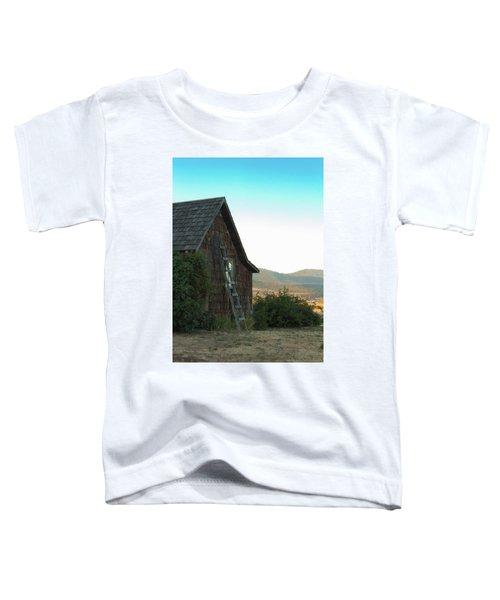 Wood House Toddler T-Shirt