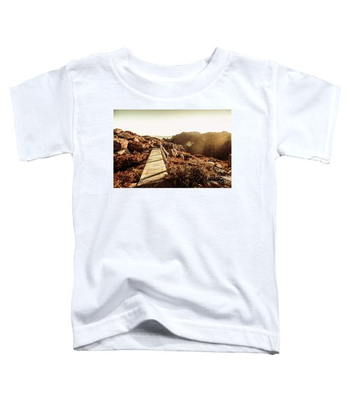 Wooden Mountain Paths Toddler T-Shirt