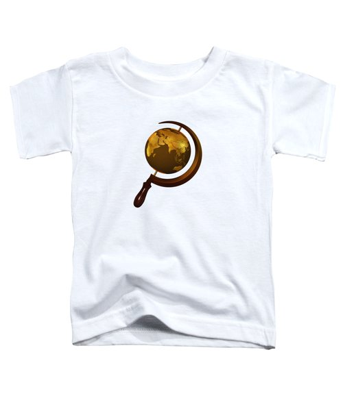 Workers Of The Globe Toddler T-Shirt by Nicholas Ely