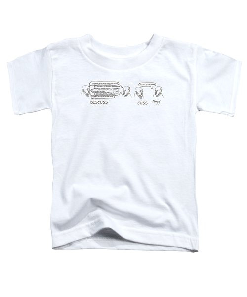 Working It Out Toddler T-Shirt
