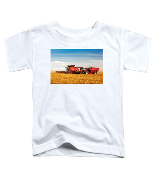 Working Side-by-side Toddler T-Shirt