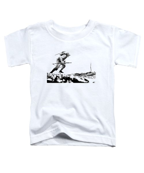 Wwii Marine Crosses Death Valley Okinawa Toddler T-Shirt