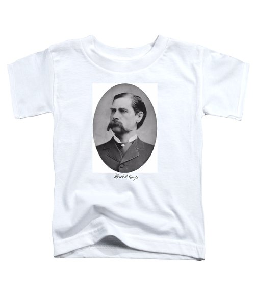 Wyatt Earp Autographed Toddler T-Shirt