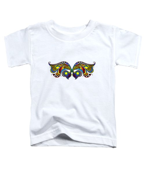 Chrysalis Toddler T-Shirt by Dar Freeland